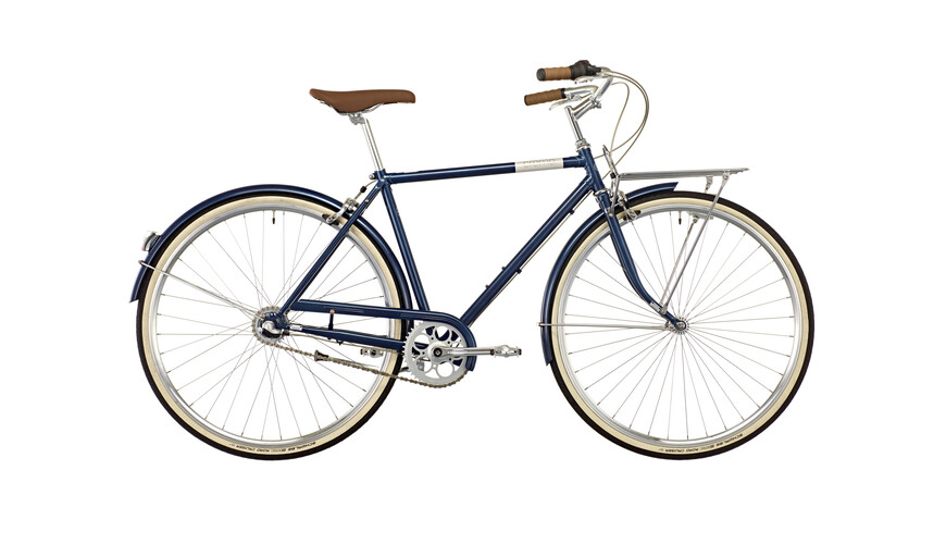 Creme Caferacer Solo Men 3-speed deep blue